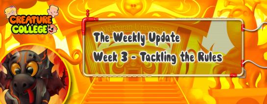 Weekly Update 3