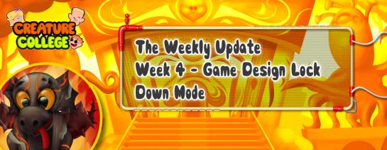 Weekly Update 4