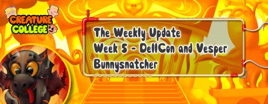 Weekly Update 5