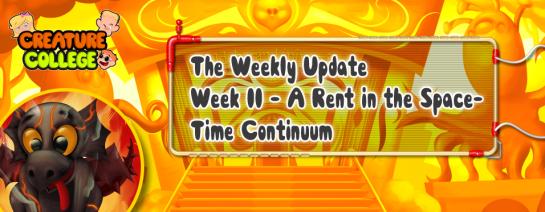 Weekly Update 11